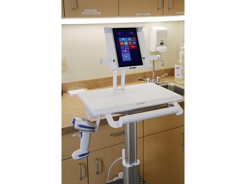 ergotron styleview mobiler tablet wagen sv10 1400 0. Black Bedroom Furniture Sets. Home Design Ideas
